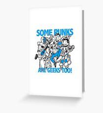 Geek Punk Greeting Card