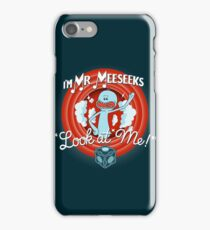Merrie Mr. Meeseeks - shirt iPhone Case/Skin