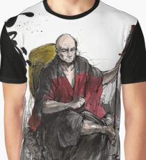 Captain Picard Samurai tribute Graphic T-Shirt