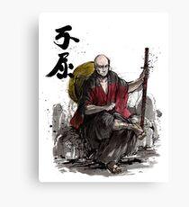 Captain Picard Samurai tribute Canvas Print