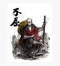 Captain Picard Samurai tribute Photographic Print