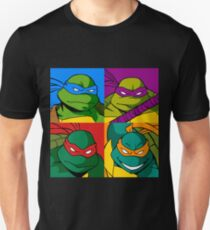 Teenage Mutant Ninja Warhol T-Shirt
