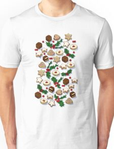 Christmas Treats and Cookies Unisex T-Shirt