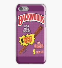Backwoods Honey Berry Cigars iPhone Case/Skin