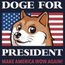 Doge For President by Tabner