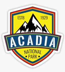 ACADIA NATIONAL PARK MAINE MOUNTAINS HIKING CAMPING HIKE CAMP 2 Sticker