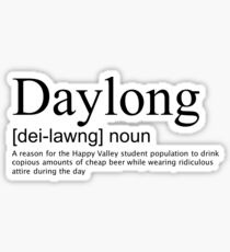 Daylong Definition Sticker