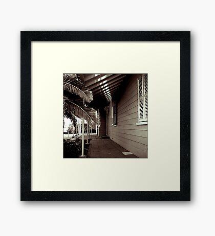 Verandah Framed Print