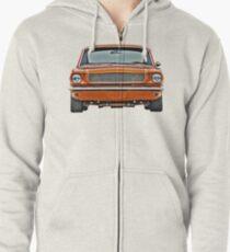 Mustang 1965 Zipped Hoodie