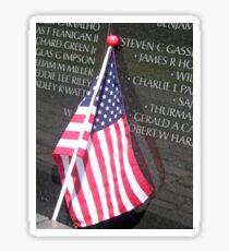 Flag For Fallen Soldier Sticker