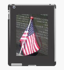 Flag For Fallen Soldier iPad Case/Skin