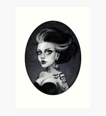 Bride of Frankie Art Print
