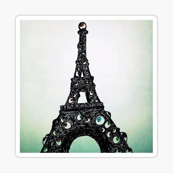 Full Color Eyeful Tower Sticker