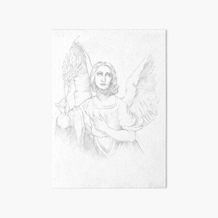 An angel Art Board Print