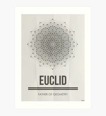 Euclid - Mathematician Posters Art Print