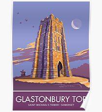 Glastonbury Tor, Somerset Poster