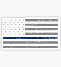 Thin Blue Line Blue Lives Matter Sticker