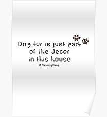 Dog fur Poster