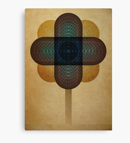 Flower By Degree Canvas Print