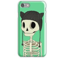 Skeleton Kitty iPhone Case/Skin