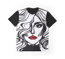 Red Lips Graphic T-Shirt