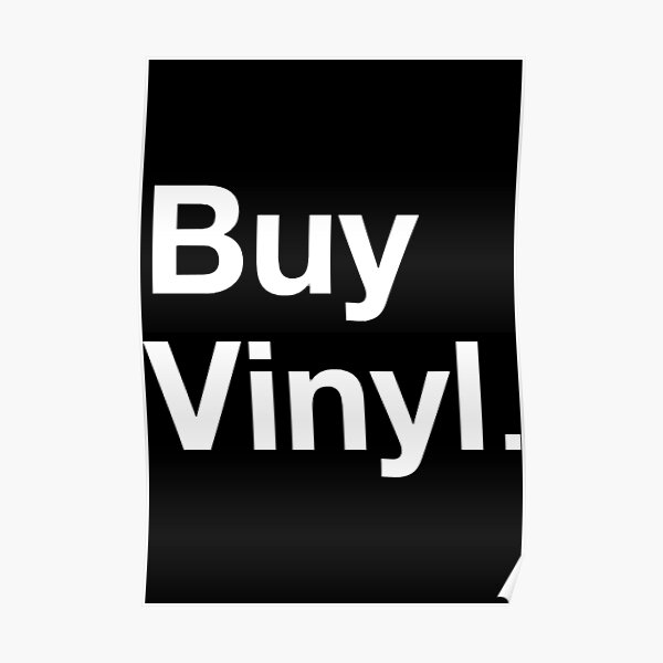 Buy Vinyl Record Store Day  Poster