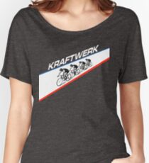 KRAFTWERK - TOUR DE FRANCE Women's Relaxed Fit T-Shirt