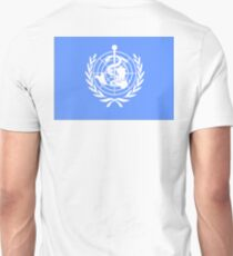 WHO, World, Health, Organisation, Flag T-Shirt