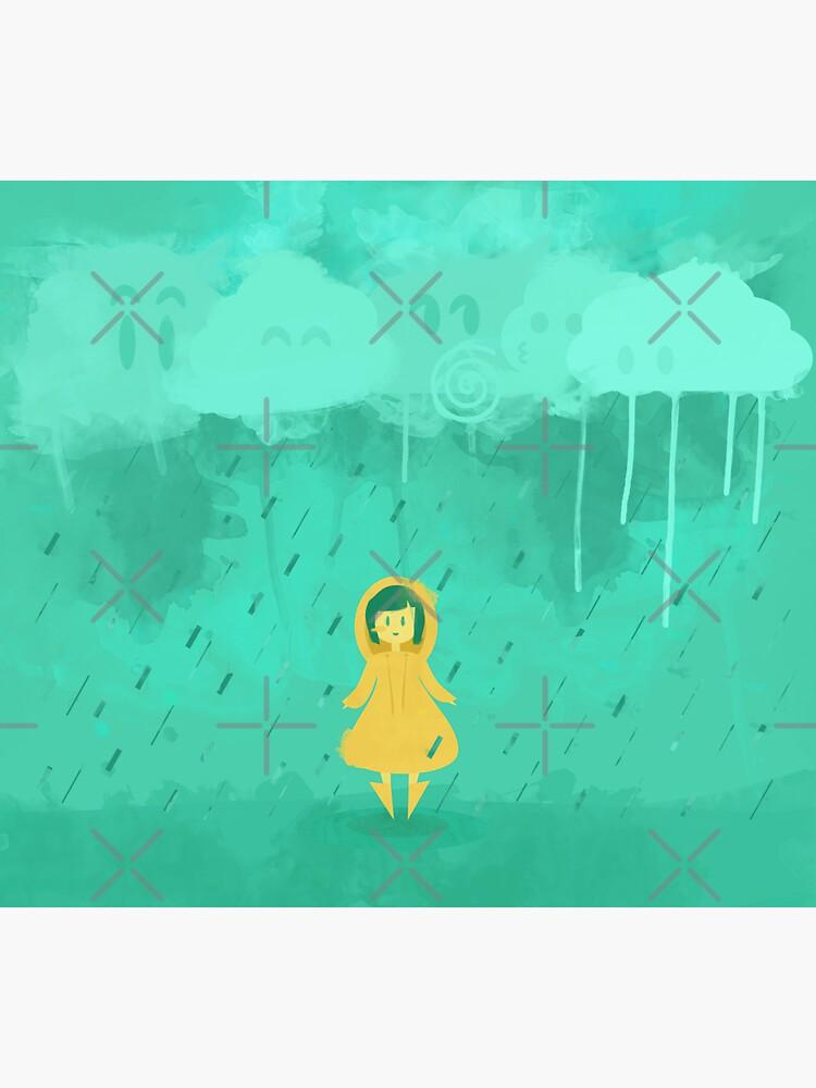Rain Friends by lexamay