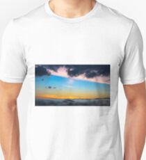 Sunset from the sea Unisex T-Shirt