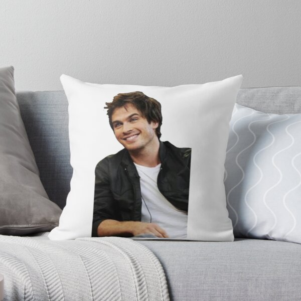 Ian somerhalder  Throw Pillow