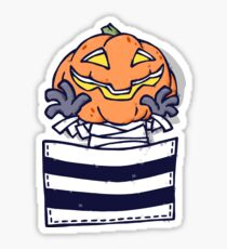 Halloween Monsters - Jack Sticker