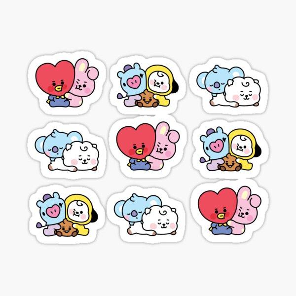 BT21 babies Sticker