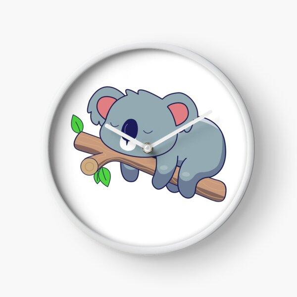 Sleepy Koala Clock