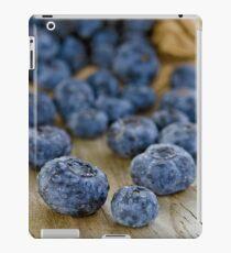 Blueberry Macro iPad Case/Skin