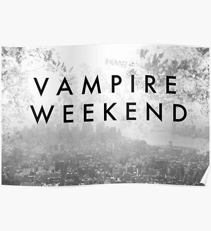 Vampire Weekend Poster Poster