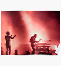 Thom and Jonny from Radiohead playing Lollapalooza Poster