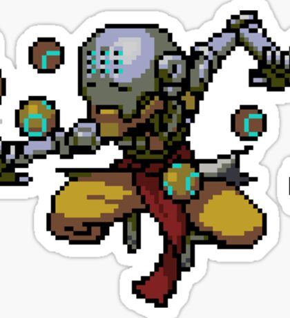 Zenyatta Pixel Spray Sticker
