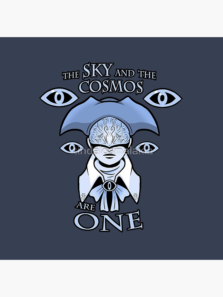 The Sky And The Cosmos Are One Tote Bag By Tindalosmalakia Redbubble