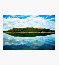 Cant Hill reflection Photographic Print