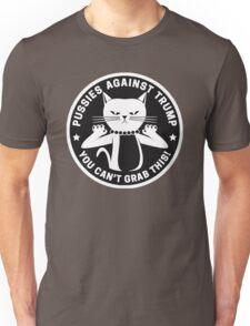 Pussies Against Trump Black Unisex T-Shirt