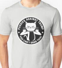 Pussies Against Trump Black T-Shirt