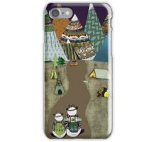 Camping is the answer iPhone Case/Skin