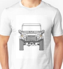 Land Rover Defender, Experimental Grille and Head Lamp Cluster Unisex T-Shirt