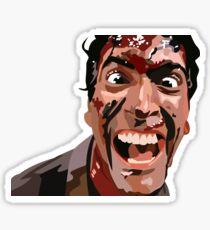 Bruce Campbell Sticker Sticker