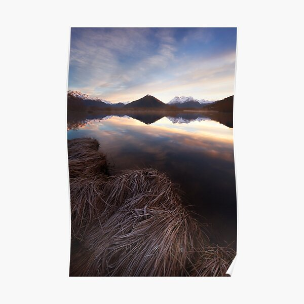 The Glenorchy Lagoon Poster