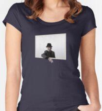 Leonard Cohen Sie wollen es dunkler Ware Tailliertes Rundhals-Shirt