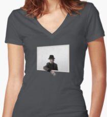 Leonard Cohen Sie wollen es dunkler Ware Shirt mit V-Ausschnitt