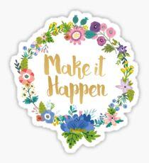Make It Happen Blush Sticker