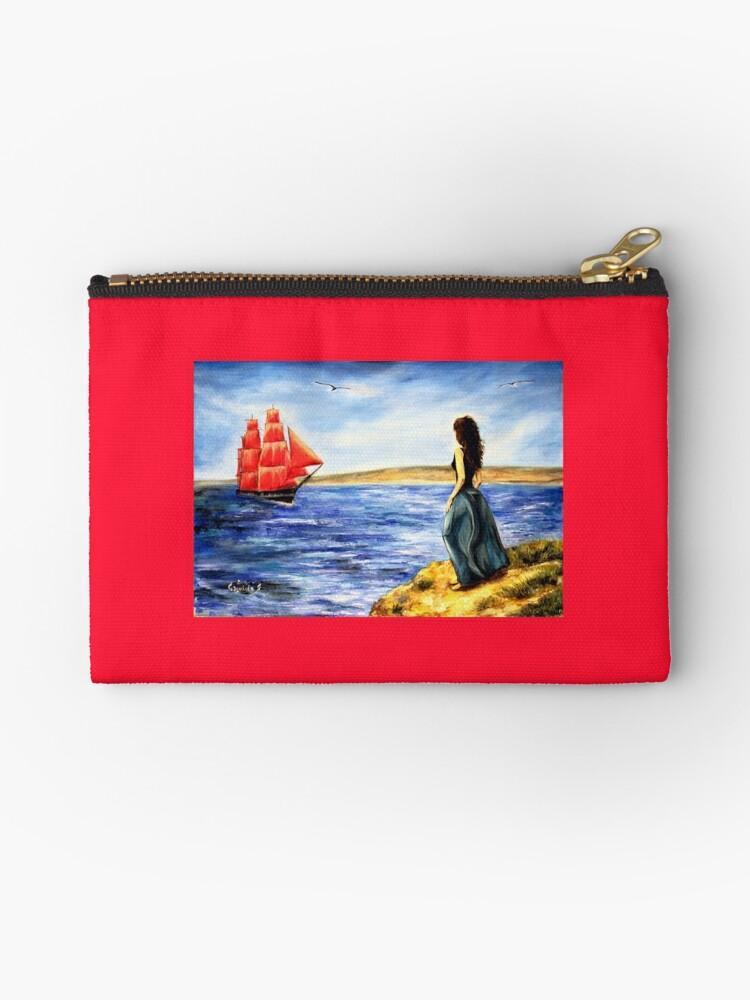 Scarlet Sails by Yana Art
